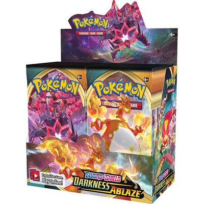 WIZARDS OF THE COAST POKEMON DARKNESS ABLAZE BOOSTER PACK