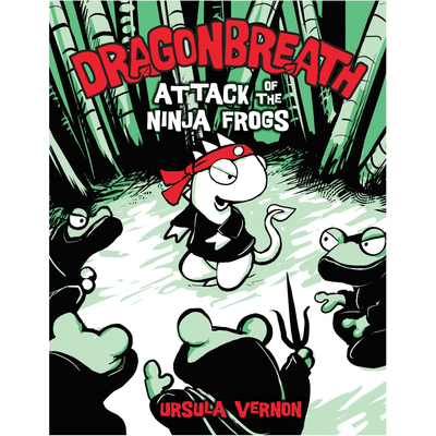 PENGUIN DRAGONBREATH 2 ATTACK OF THE NINJA FROGS HB VERNON