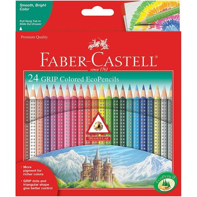 FABER CASTELL GRIP WATERCOLOR ECOPENCILS