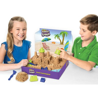 SPINMASTER KINETIC SAND BEACH CASTLE SET