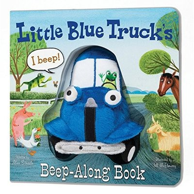 HOUGHTON MIFFLIN LITTLE BLUE TRUCK'S BEEP-ALONG BOOK