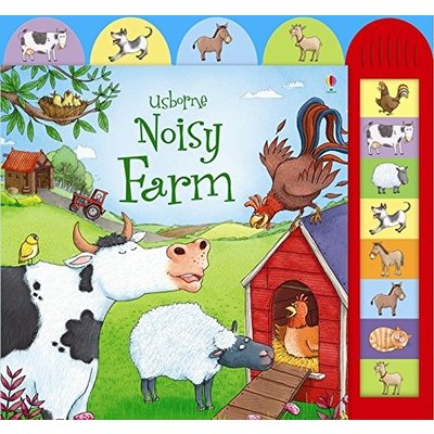EDC PUBLISHING NOISY FARM SOUND BOOK