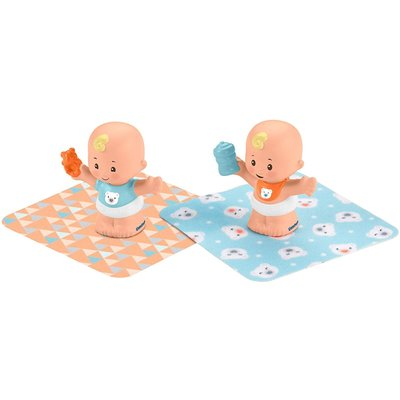 FISHER PRICE LITTLE PEOPLE BABIES 2 PACK