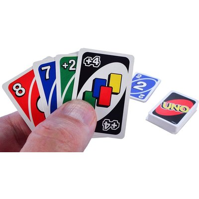 WORLDS SMALLEST UNO CARDS