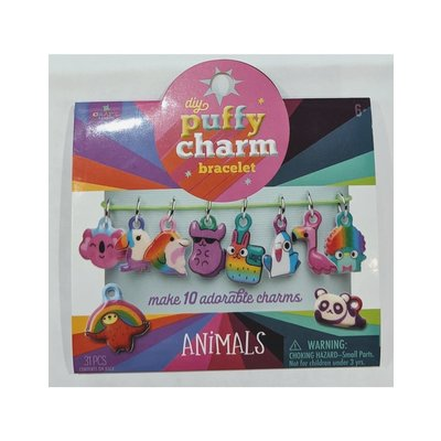 ANN WILLIAMS PUFFY CHARM BRACELET