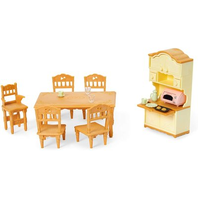 CALICO CRITTERS DINING ROOM SET CALICO CRITTERS