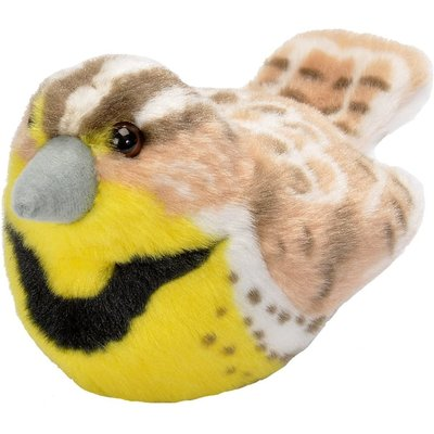 WILD REPUBLIC MEADOWLARK STUFFED BIRD