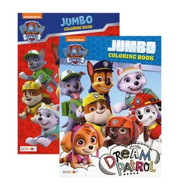 MASTER TOY CARTOON INSPIRED COLORING BOOKS PAW PATROL