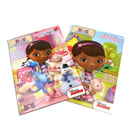 MASTER TOY CARTOON INSPIRED COLORING BOOKS DOC MCSTUFFINS
