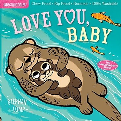 WORKMAN PUBLISHING LOVE YOU BABY INDESTRUCTIBLE