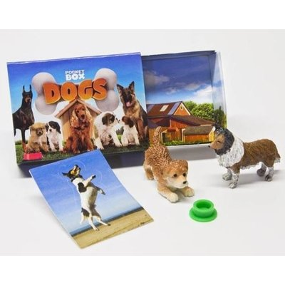 BREYER POCKET BOX DOGS