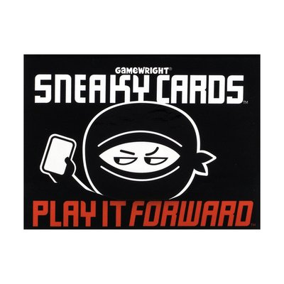 CEACO/ BRAINWRIGHT/ GAMEWRIGHT SNEAKY CARDS PLAY IT FORWARD*