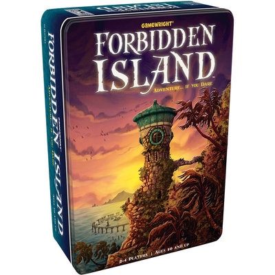 CEACO/ BRAINWRIGHT/ GAMEWRIGHT FORBIDDEN ISLAND GAME