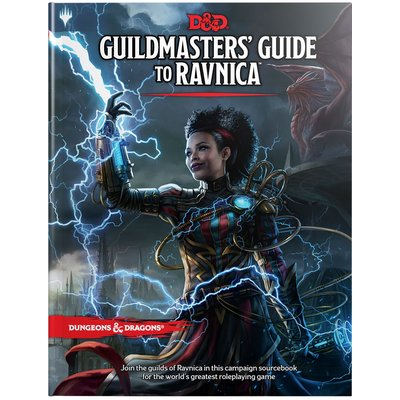 WIZARDS OF THE COAST D & D 5TH: GUILDMASTERS GUIDE TO RAVNICA