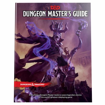 WIZARDS OF THE COAST D & D 5th DUNGEON MASTERS GUIDE