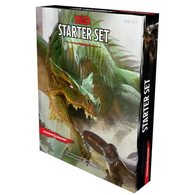 WIZARDS OF THE COAST D & D 5th STARTER GAME