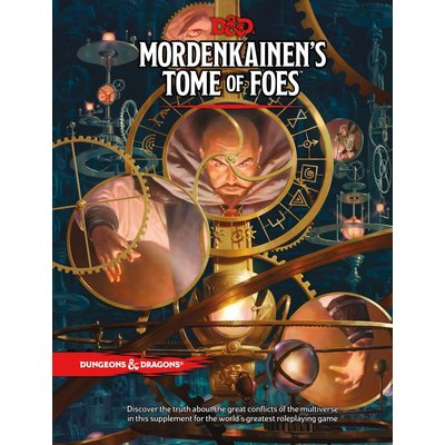 WIZARDS OF THE COAST D & D 5TH: MORDENKAINEN'S TOME OF FOES