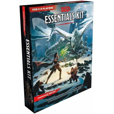 WIZARDS OF THE COAST D & D 5TH: ESSENTIALS KIT