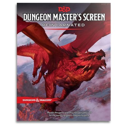 WIZARDS OF THE COAST D & D: 5TH DM SCREEN REINCARNATED