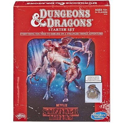 WIZARDS OF THE COAST D & D 5th STRANGER THINGS STARTER SET