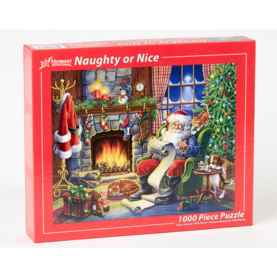 NAUGHTY OR NICE 1000 PC PUZZLE
