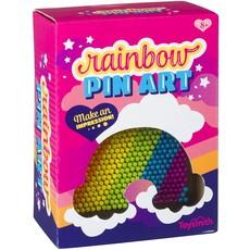 RAINBOW PIN ART**