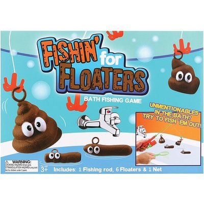 THUMBS UP FISHING FOR FLOATERS BATH GAME