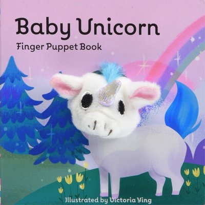 CHRONICLE PUBLISHING BABY UNICORN FINGER PUPPET BOOK BB IMAGE BOOKS