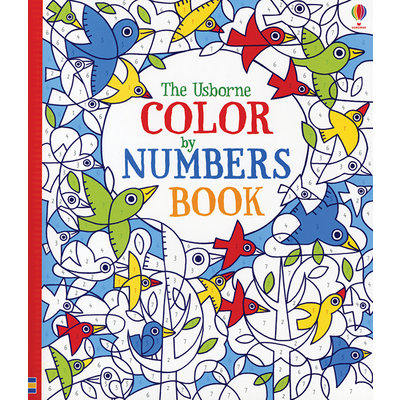 EDC PUBLISHING THE USBORNE COLORED BY NUMBERS BOOK