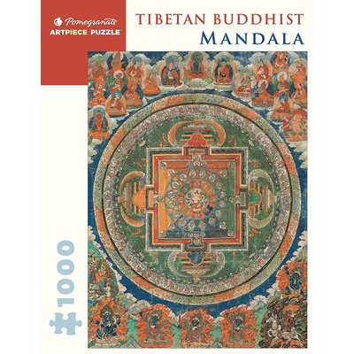 POMEGRANATE TIBETAN BUDDHIST MANDALA 1000 PIECE