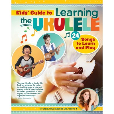 HAPPY FOX BOOKS KIDS GUIDE TO LEARNING THE UKULELE PB ARROW