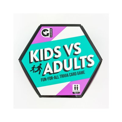 GINGER FOX KIDS VS ADULTS TRIVIA GAME