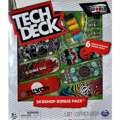 TECH DECK TECH DECK SKATE SHOP BONUS PACK