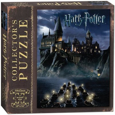 USAOPOLY HARRY POTTER WORLD OF 550 PC PUZZLE