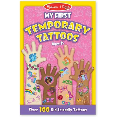 MELISSA AND DOUG MY FIRST TEMPORARY TATTOO PINK