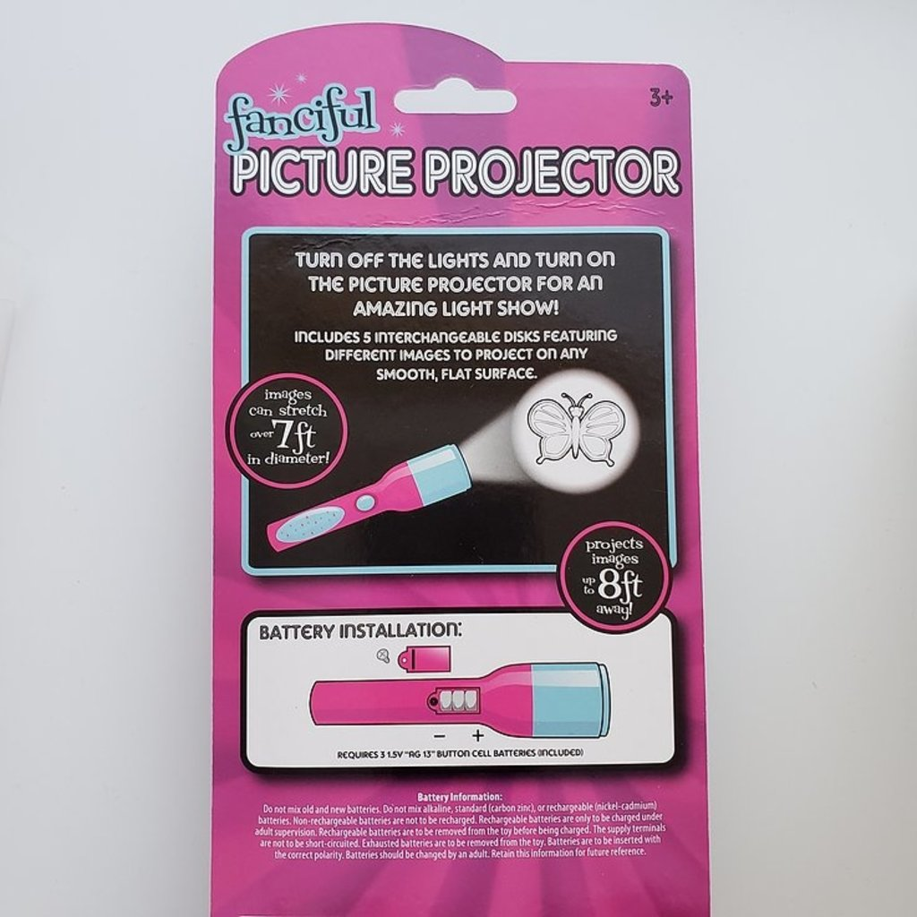 TOYSMITH PICTURE  PROJECTORS