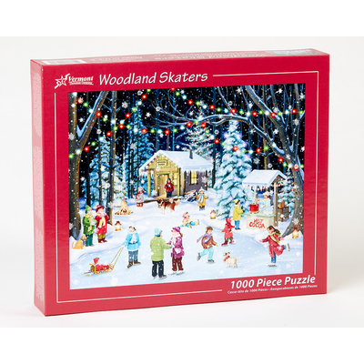 WOODLAND SKATERS 1000 PC PUZZLE