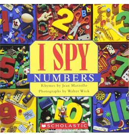 SCHOLASTIC I SPY: NUMBERS