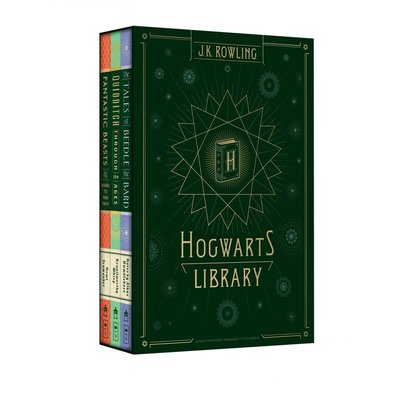 SCHOLASTIC HARRY POTTER LIBRARY HB ROWLING