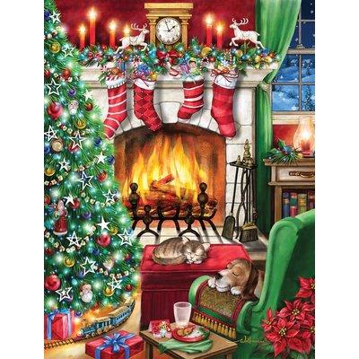 COZY CHRISTMAS 550 PC PUZZLE