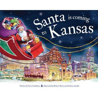 SOURCEBOOKS SANTA IS COMING TO KANSAS