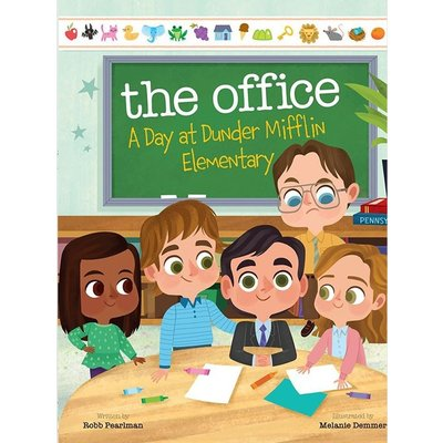 LITTLE BROWN BOOKS THE OFFICE: A DAY AT DUNDER MIFFLIN ELEMENTARY HB PEARLMAN