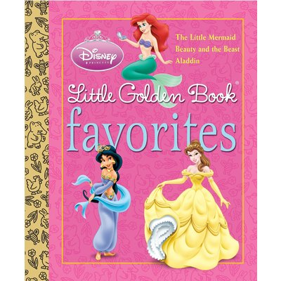 RANDOM HOUSE DISNEY PRINCESS FAVORITES LGB