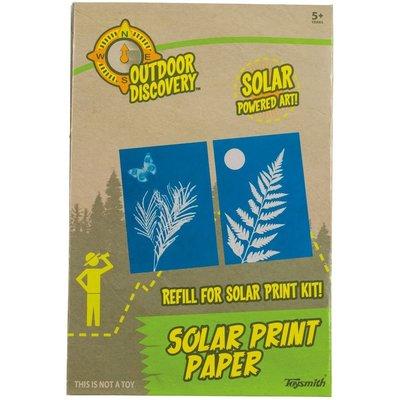 TOYSMITH SOLAR PRINT PAPER