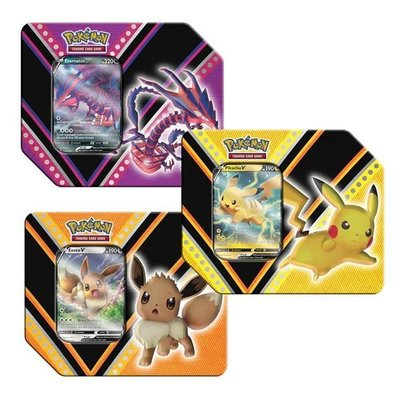 POKEMON INTERNATIONAL POKEMON V POWERS TIN