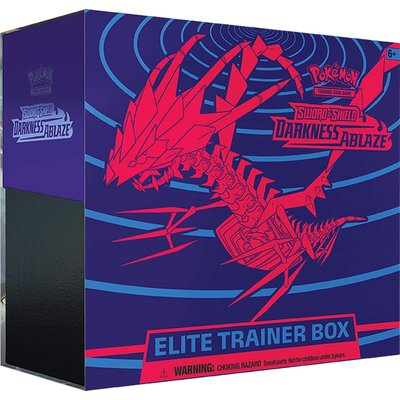 POKEMON INTERNATIONAL POKEMON S & S3 DARKNESS ABLAZE ELITE TRAINER
