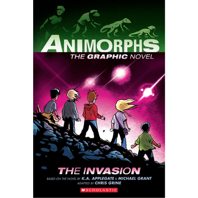 GRAPHIX ANIMORPHS 1 THE INVASION PB APPLEGATE