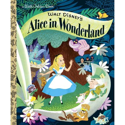 RANDOM HOUSE ALICE IN WONDERLAND LGB DISNEY