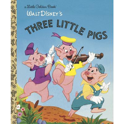 RANDOM HOUSE THREE LITTLE PIGS LGB DISNEY