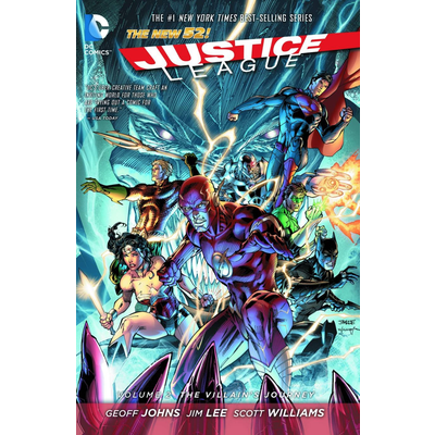 DC COMICS JUSTICE LEAGUE VOL 2: THE VILLAIN'S JOURNEY